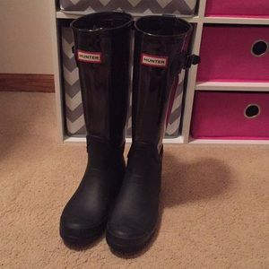 Tall Clear Hunter Boots